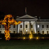 Thumbnail image for Donald Trump adds a burning cross to the White House festive decorations