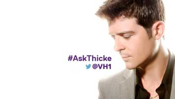 Robin Thicke Twitter questions