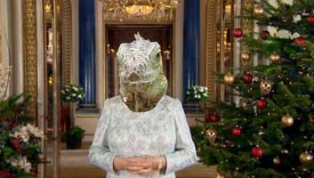Queens speech reptilian reveal