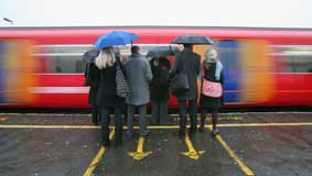 Rail fares to rise in January by 3.6%