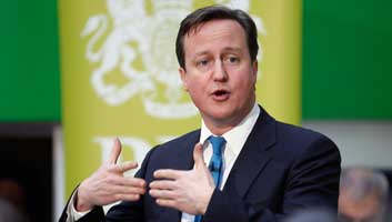 Cameron calls for open and honest debate