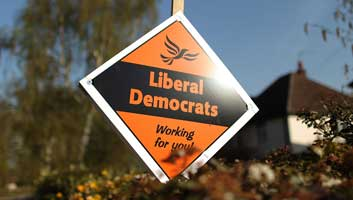 liberal democrats found down the back of an old sofa