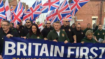Britain First White Christmas