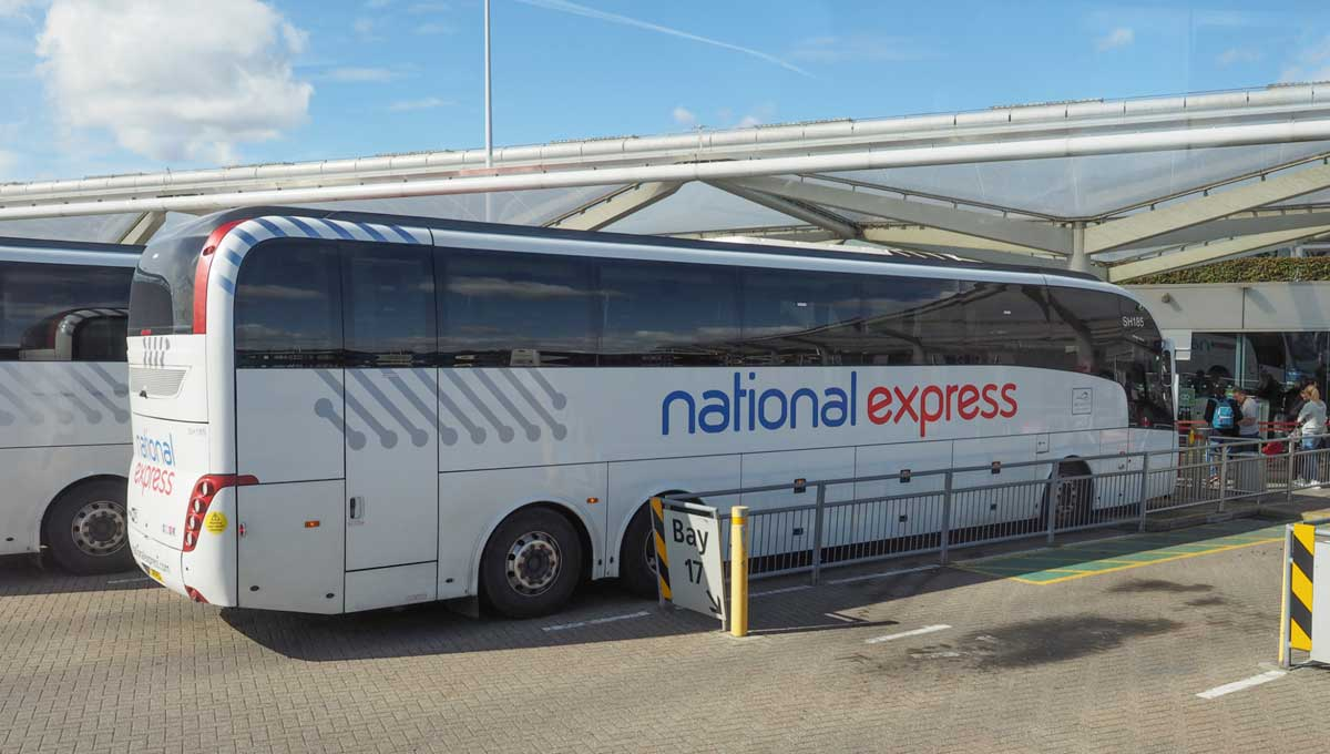National Express unveils new 'bullet' coach