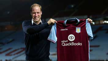 Prince William Aston Villa Manager