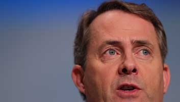 Liam Fox blackmailed