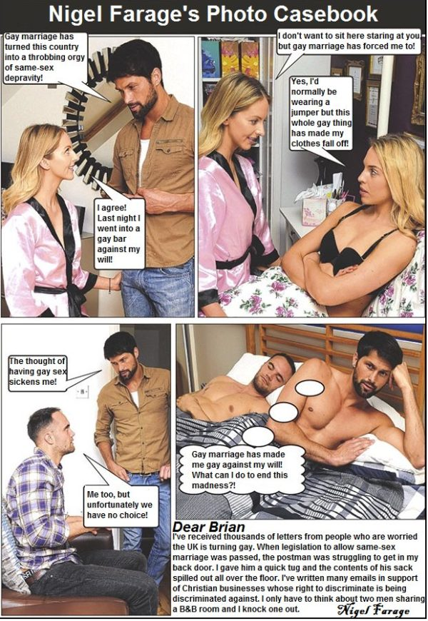 Nigel Farage's Photo Casebook #10