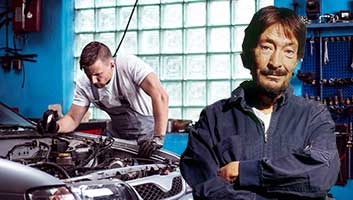 Chris Rea car fails MOT