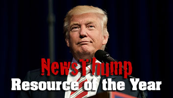 Donald Trump NewsThump resource of the year