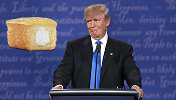 Trump hostess cake lookalike