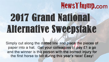 Grand National 2017 sweepstake