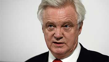 David Davis piss up in a brewery
