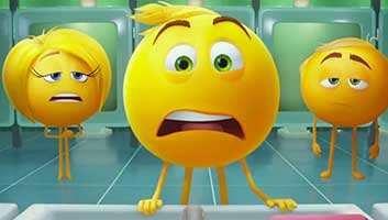 Emoji movie reviews