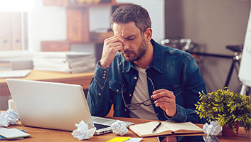 Man tired of researching vacuums online